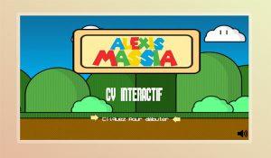 Un CV original et interactif façon Mario Bros