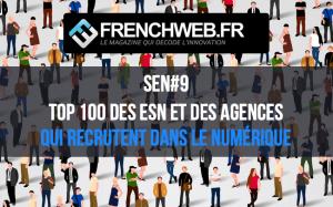 Le Top 100 des Entreprises de Services du Numérique et des Agences qui recrutent en 2019 – Le Journal des RH