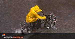 A vélo, c'estscientifiquement prouvé: il ne pleut que sur les cons !