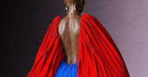 Mode: Anifa Mvuemba, la styliste qui en met plein la vue avec son défilé 3D