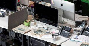 40% des salariés qui devraient télétravailler vont au bureau